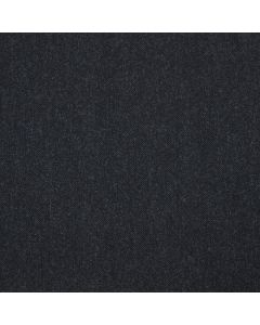 LAMBSWOOL COATING HERRINGBONE NAVY