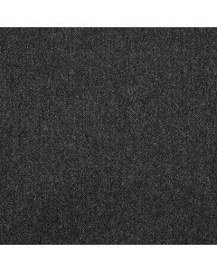 LAMBSWOOL COATING HERRINGBONE CHARCOAL