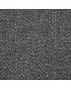 LAMBSWOOL COATING HERRINGBONE GREY