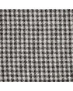 WOOL/COTTON/CASHMERE DOGTOOTH GREY