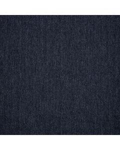 WOOL/COTTON/CASHMERE HERRINGBONE BLUE