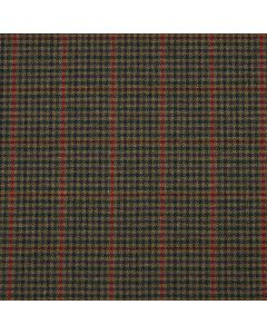 LAMBSWOOL JACKETING DOGTOOTH PANE FOREST