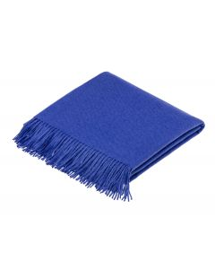 ALPACA MIDNIGHT BLUE THROW