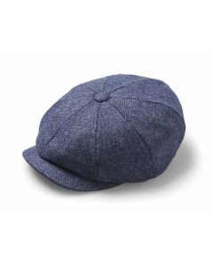BAKER BOY HAT DENIM MEDIUM