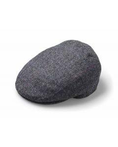 FLAT CAP WINDOWPANE SLATE SMALL