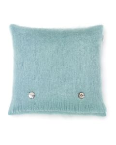 AQUA MOHAIR CUSHION
