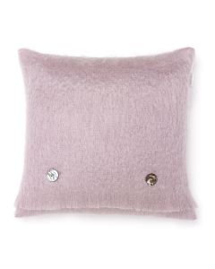 DUSKY PINK MOHAIR CUSHION