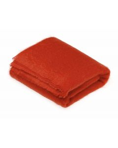FLAME MOHAIR THROW