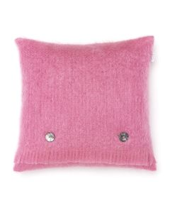 FUSCHIA PINK MOHAIR CUSHION