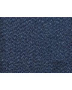 LAMBSWOOL HERRINGBONE DARK BLUE
