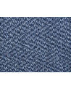 LAMBSWOOL HERRINGBONE MID BLUE