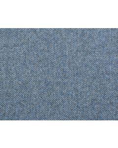 LAMBSWOOL HERRINGBONE STEEL BLUE