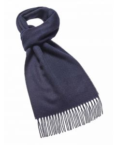 PLAIN NAVY SCARF