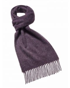 PLAIN PURPLE HEATHER SCARF