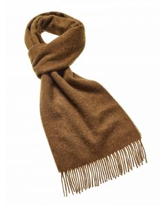 PLAIN CHOCOLATE SCARF