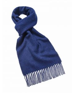 PLAIN MID BLUE SCARF