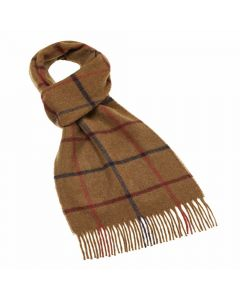 LINCOLN CAMEL SCARF