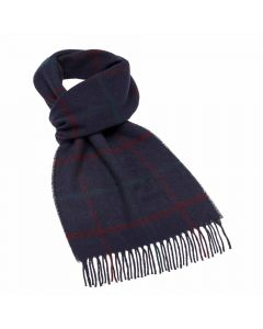 LINCOLN NAVY SCARF