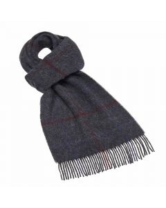 LINCOLN CHARCOAL SCARF