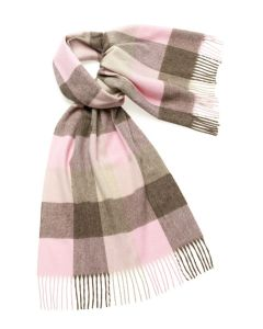 SLEDMERE PINK/FAWN 50CM STOLE