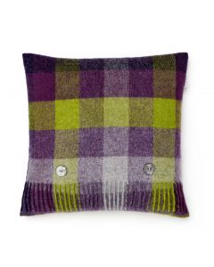 HARLEQUIN BLACKCURRANT CUSHION