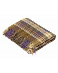 GLEN COE HEATHER THROW