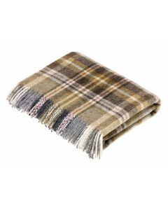 GLEN COE MUSTARD THROW