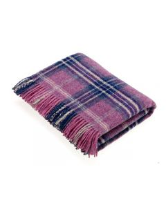 NATIONAL TRUST MONTACUTE HEATHER THROW
