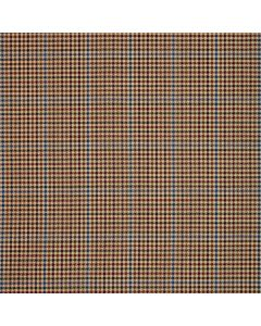 WORSTED JACKETING DOGTOOTH PANE BROWN/BLUE